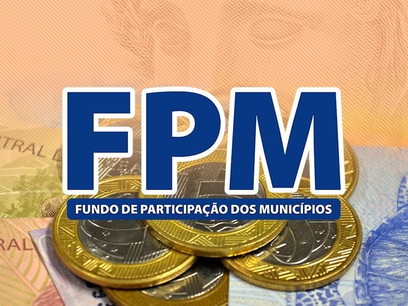 Com queda de 25,62%, primeiro FPM de agosto será pago nesta segunda-feira (10)